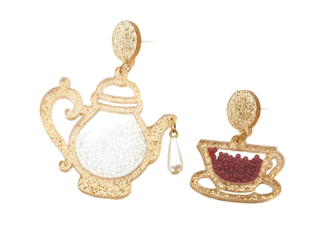 Tea Time Earrings - cheeky-trendy