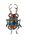 Metallic Beetle Brooch - cheeky-trendy