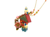 Beautiful Bird House Necklace - cheeky-trendy