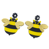 BeeRings - Bumblebee Earrings - cheeky-trendy