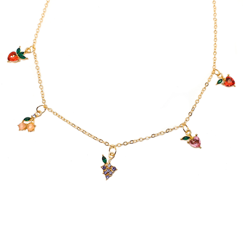 Fruity Gem Necklace