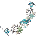 Tropical Marine Life Necklace