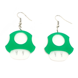 Level Up! Gamer Mushroom Earrings