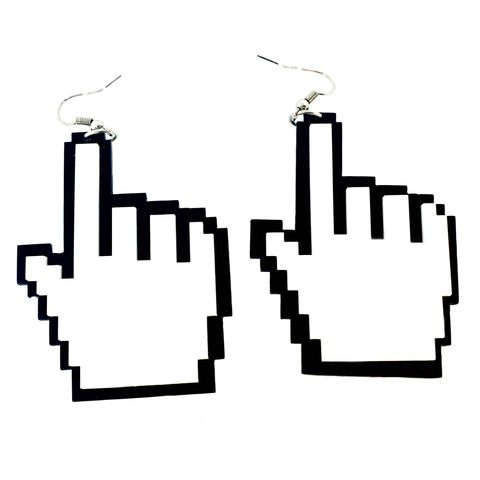 You've got Mail! Cursor Acrylic Earrings