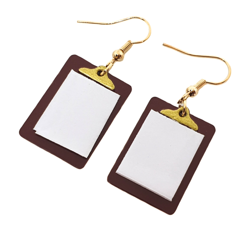 Carol From Accounting Earrings - cheeky-trendy