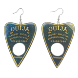 Glitter Resin Ouija Board Earrings