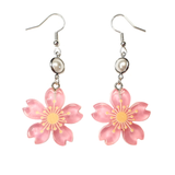 Cherry Blossom and Pearl Earrings