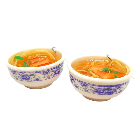 Tasty Ramen Bowl Earrings