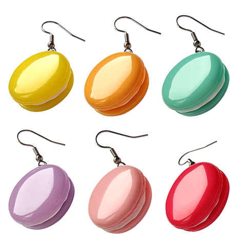 Colourful Macaroon Earrings