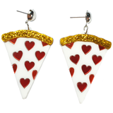 Gimme Pizza... P-I-Z-Z-A Acrylic Earrings