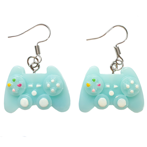 Eat, Sleep. Game, Repeat - Console Controller Earrings
