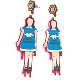 Red Rum - Creepy Twins Earrings