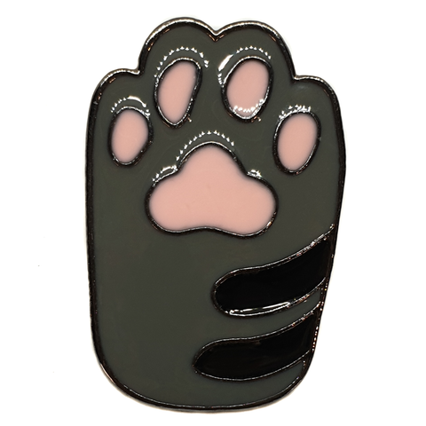 Kitty Cat Paw Enamel Pin