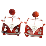 Love Bus Acrylic Earrings