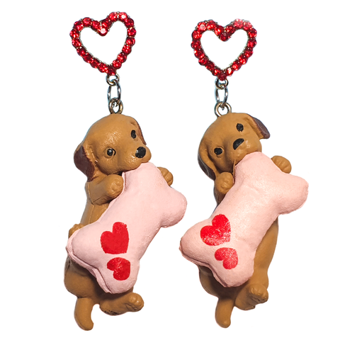Puppy Love Drop Earrings