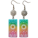 Tarot Card Earrings - The Sun