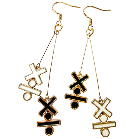 Spicy Lady - Multiplication & Division Earrings