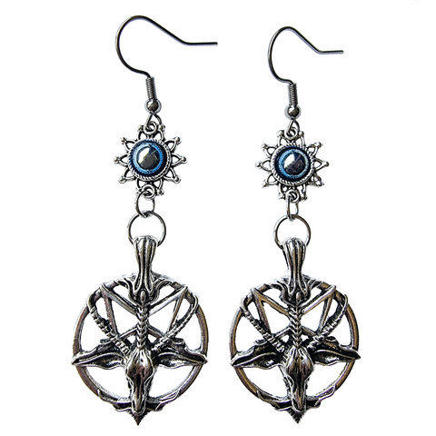 Baphomet Earrings