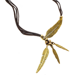 Boho Feather Necklace - cheeky-trendy