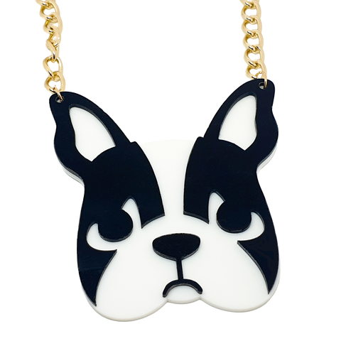 French Bulldog Necklace - cheeky-trendy