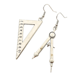 Maths Set Earrings - cheeky-trendy