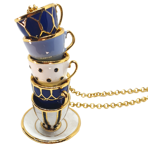 Teacup Tower Necklace - cheeky-trendy