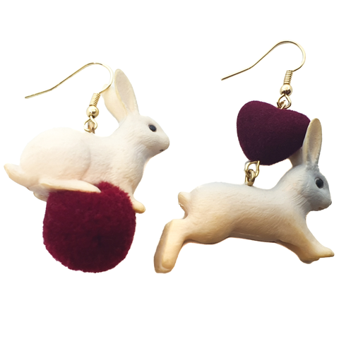 Love Bunny Earrings - cheeky-trendy