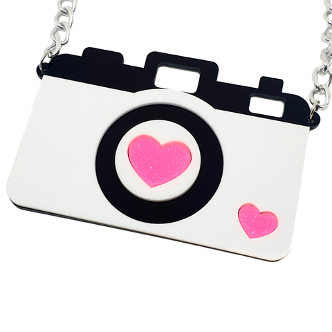 Jumbo Camera Necklace - cheeky-trendy