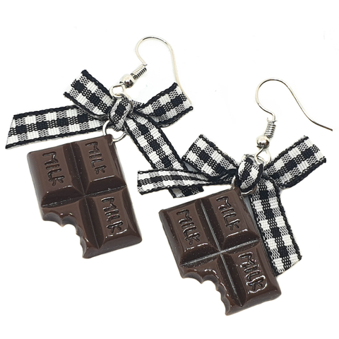Sweet like Chocolate Earrings - cheeky-trendy