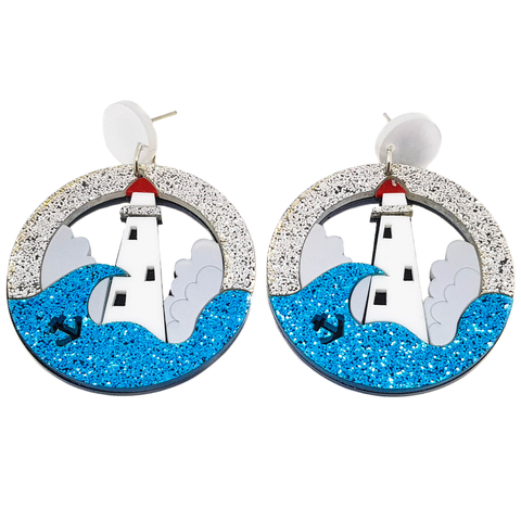 Lighthouse Earrings - cheeky-trendy