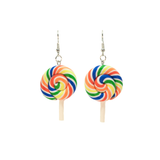 Swirly Lollipop Earrings - cheeky-trendy