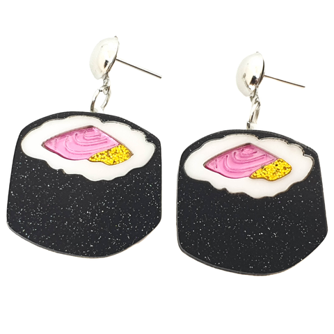 Sushi Roll Earrings - cheeky-trendy