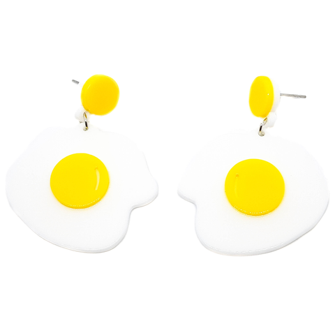Sunny Side Egg Earrings - cheeky-trendy