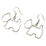 Scottie Dog Earrings - cheeky-trendy