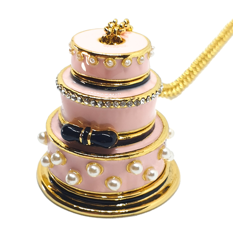4-Piece Wedding Cake Necklace - cheeky-trendy