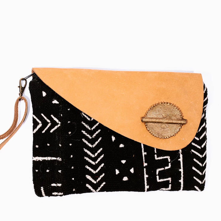 Mud Cloth Clutch