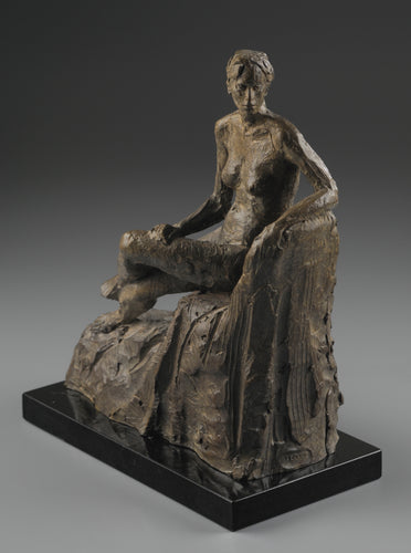Seated Figure Looking Back - LeQuire Gallery