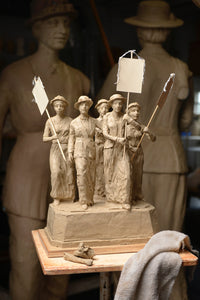 Tennessee Woman Suffrage Monument Maquette