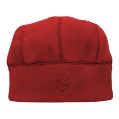 3Warm Beanie Hat Vertical Red