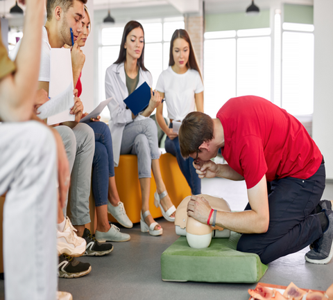 Level 3 Award in Emergency First Aid at Work (RQF)