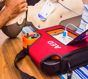 Basic Life Support & Safe use of an AED - Distance Learning (CPD)