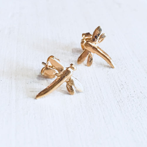 18ct gold vermeil earrings