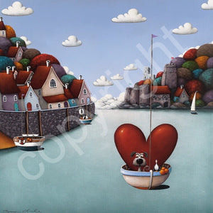 """Dartmouth with Love"" canvas print"