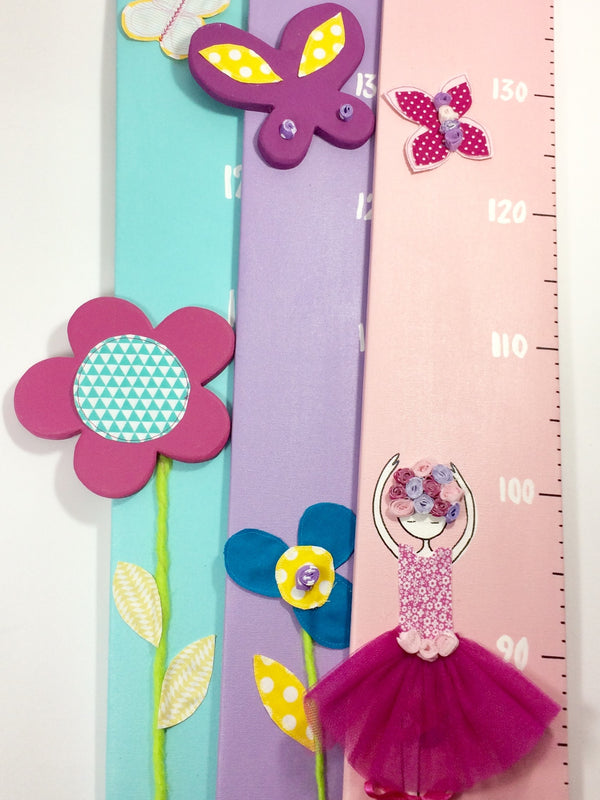 Handmade in Italy, these colourful and eye-catching height charts are a fabulous addition to any kid's room, bedroom or playroom.