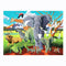 Challenge your kids to put together this 100 piece, beautiful wild safari jigsaw from Bertoy! Complete the puzzle to create images of beautiful wild animals like an Elephant, Lion, Giraffe and many more!