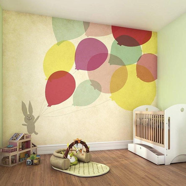 Balloon Fun Wall Mural