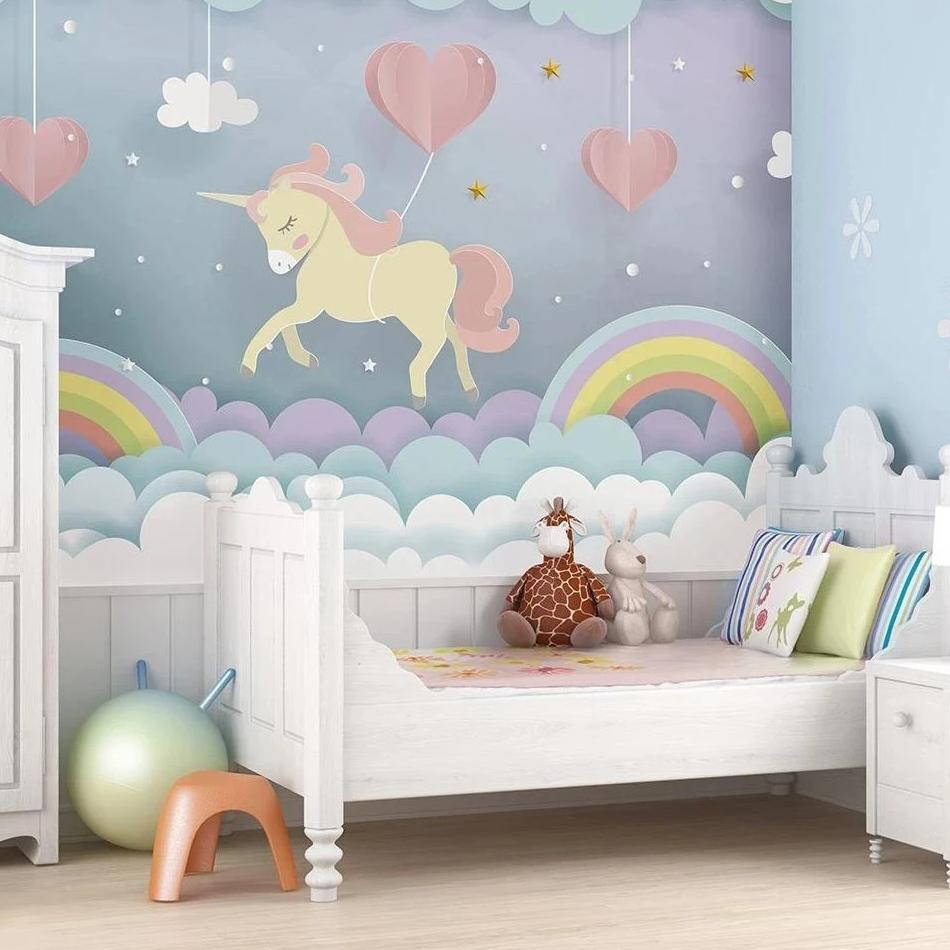 Unicorn Dream Wall Mural - Rooms for Rascals, a Leafy Lanes Retailers Ltd business