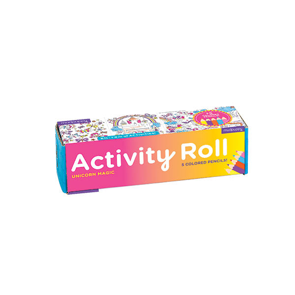Unicorn Magic Activity Roll - Rooms for Rascals