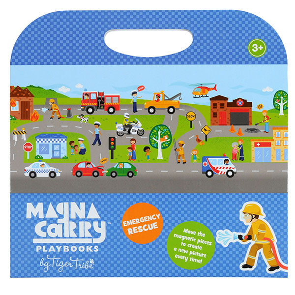 Emergency Rescue Magnetic Travel Game - Rooms for Rascals