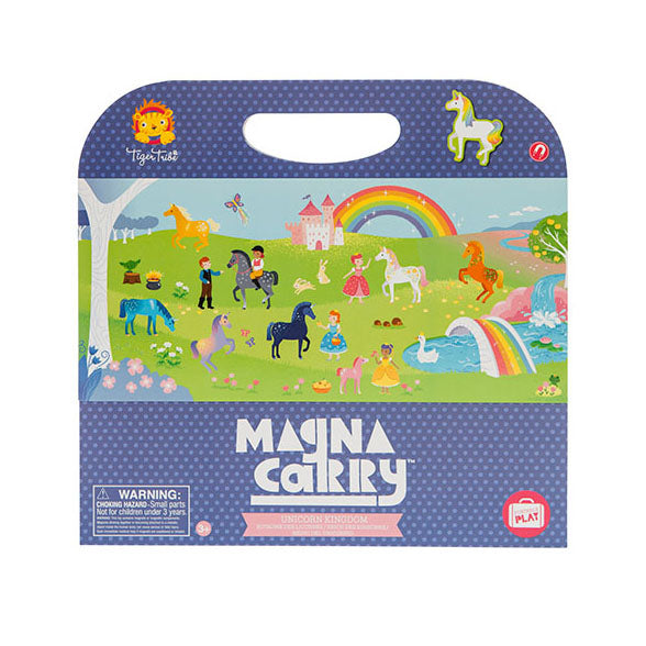 Unicorn Kingdom Magnetic Travel Game - Rooms for Rascals
